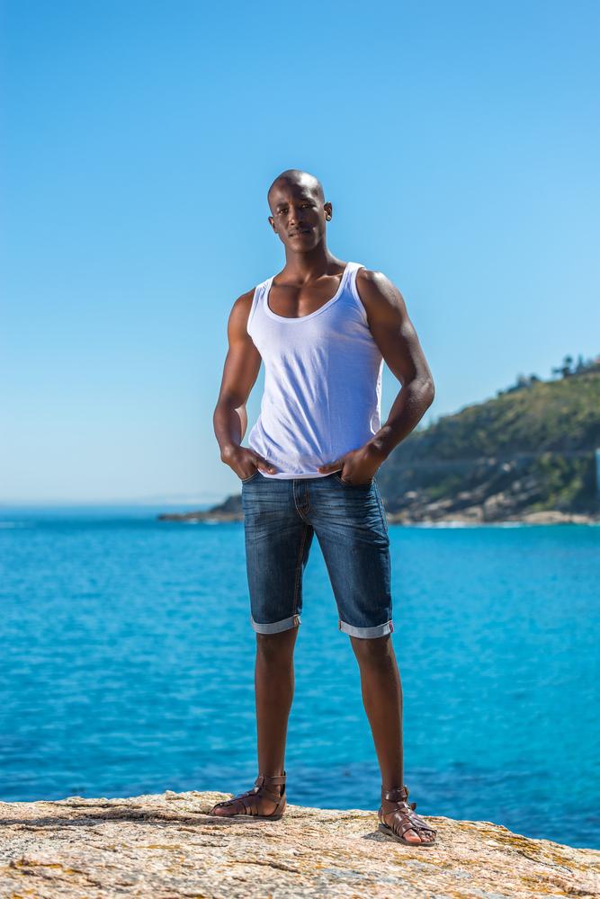 Jeansshorts für Männer