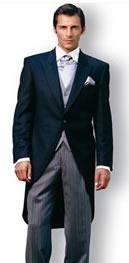 Cutaway-Anzug für die Hochzeit